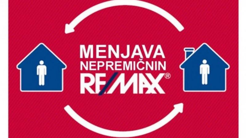 Nepremičnine – menjava nepremičnin RE/MAX Slovenija