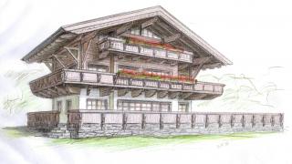 Nadstandardne počitniške hišice v Alpah ob ledeniku